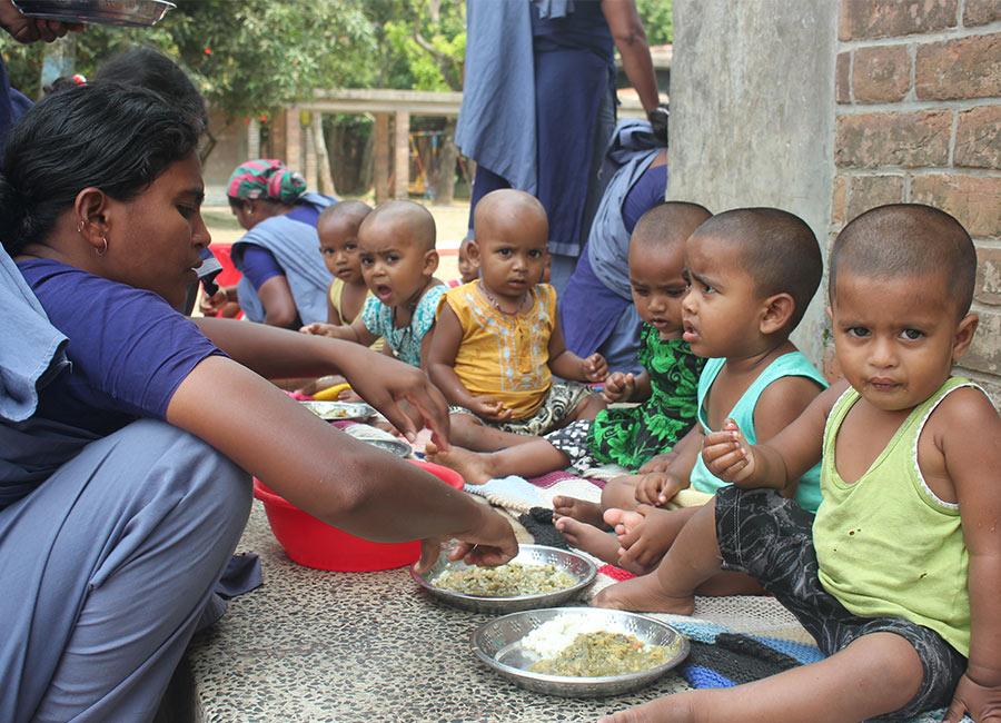 Under nutrition to proper nutrition
